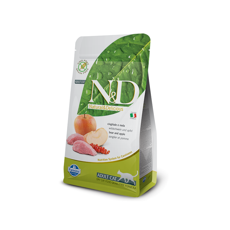 Sanglier & Pomme adulte Felin N&D Prime Farmina
