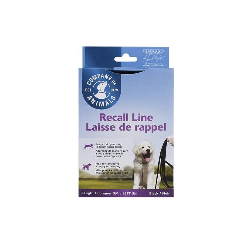 Longe chien Recall Line 5m