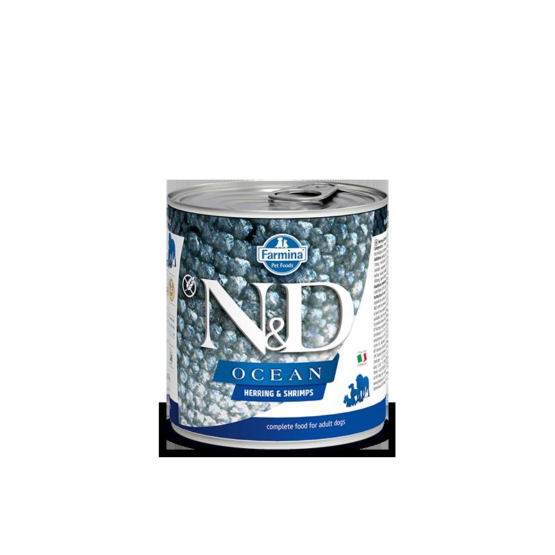 N&D Océan 285g Boites humides chien