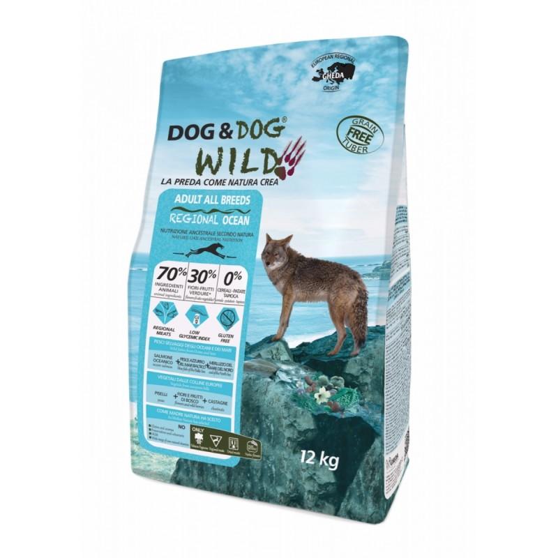 Gheda dog&dog wild Océan Croquette chien