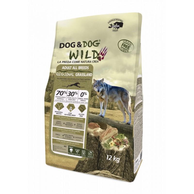 Regional Grassland Dog&dog Wild 12kg croquette chien grain free (sans céréales)