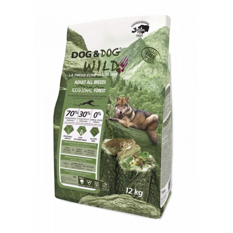 Gheda Dog&dog wild Forest Croquette chien
