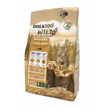Puppy Natural Instinct Dog&dog Wild 12kg croquette chien grain free (sans céréales)
