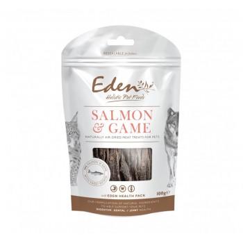 Eden Saumon&Gibier Friandise Semi-Humide chien & chat