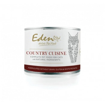 Eden Country Cuisine Chat Nourriture humide 200g