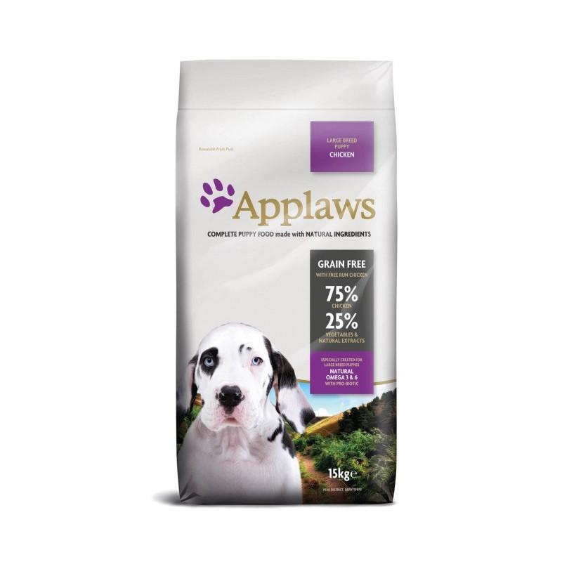 Croquette chien Poulet Chiot Large Applaws grain free 15kg