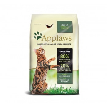 Applaws croquette chat Poulet & Agneau grain free 7.5kg