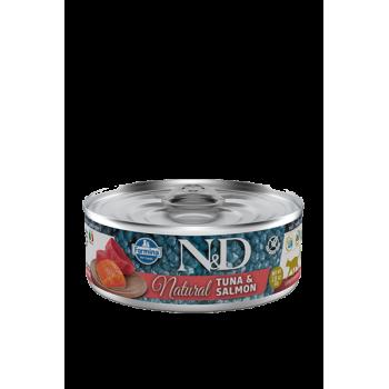 Thon et saumon N&D Natural...