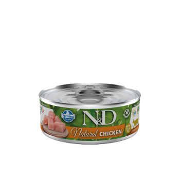 Poulet N&D Natural Farmina 80g