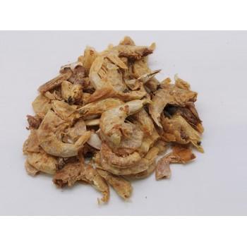 Grandes crevettes Friandise naturelle chien