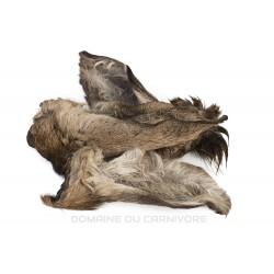 Oreille de cerf avec fourrure Friandise naturelle pour chien